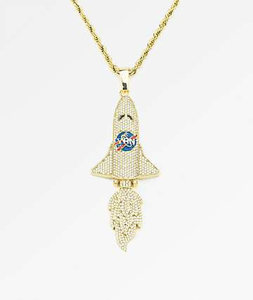 YRN x The Gold Gods Takeoff Gold Chain Necklace
