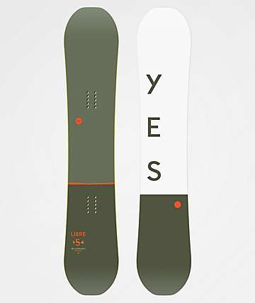 Yes. Libre Snowboard 2020