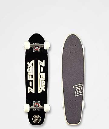 """Z-Flex Classic Black & White 29"""" Cruiser Complete"""