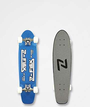 "Z-Flex Jay Adams Classic Blue Metallic 29"" Cruiser Skateboard Complete"