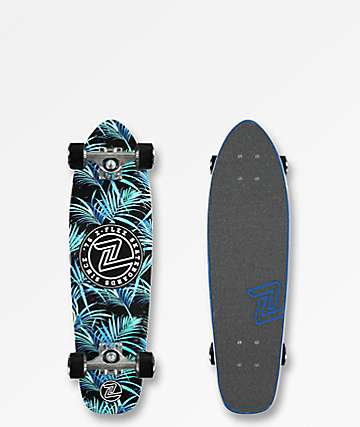 "Z-Flex Night Jungle 27"" Cruiser Complete Skateboard"