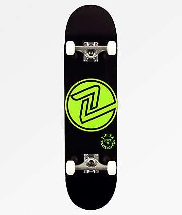 """Z-Flex OG  Green Circle 8.0"""" Skateboard Complete"""