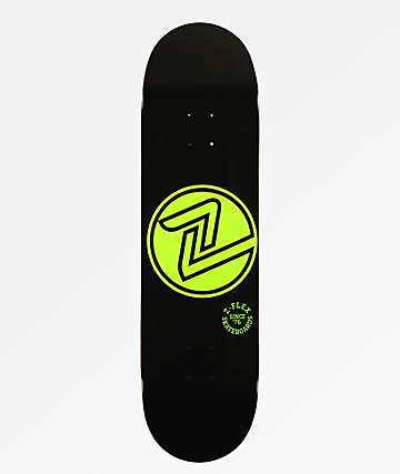 "Z-Flex OG Circle Green 8.5"" Skateboard Deck"