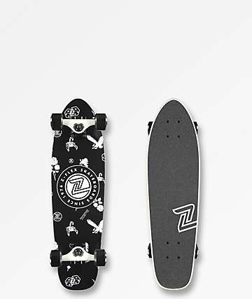 "Z-Flex Rolling Bones 27"" Cruiser Complete Skateboard"