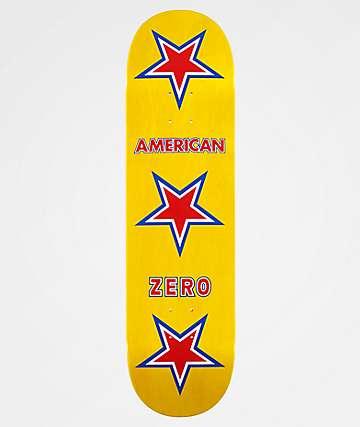 """Zero American Zero 8.37"""" Skateboard Deck"""