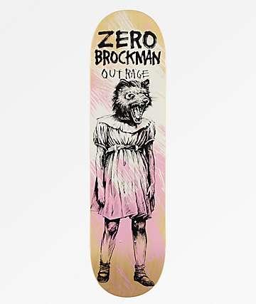 "Zero Brockman Outrage 8.25"" Skateboard Deck"