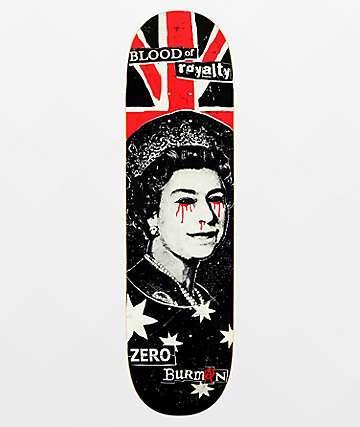"Zero Burman Blood Of Royalty 8.5"" Skateboard Deck"