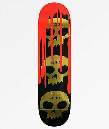 Zero Dane Burman Bloody Nose 8.5 Skateboard Deck