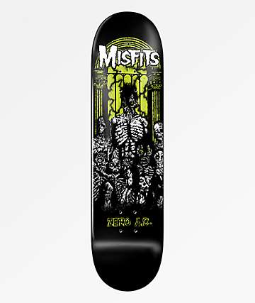 "Zero x Misfits A.D. 8.375"" Skateboard Deck"