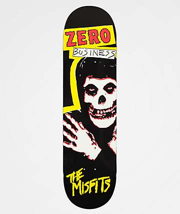 "Zero x Misfits Business 8.25"" Skateboard Deck"