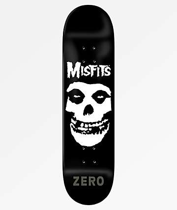 "Zero x Misfits Fiend Skull 8.0"" Skateboard Deck"