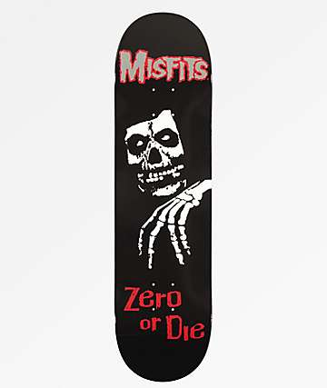 """Zero x Misfits Legacy 8.25"""" Skateboard Deck"""
