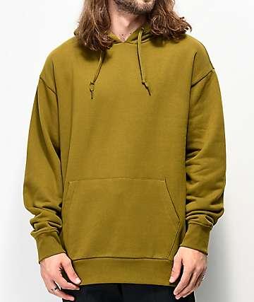 Zine Alt Fir sudadera con capucha verde