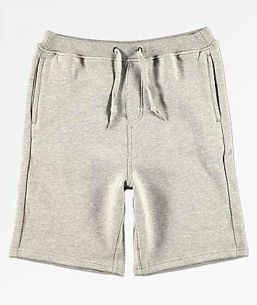 Zine Boys Damon Heather Grey Sweat Shorts