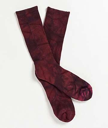 Zine Chocolate Truffle calcetines de tie dye
