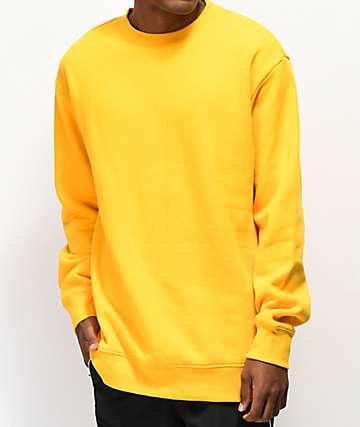Zine Cruise Mustard Crew Neck Sweatshirt