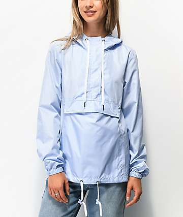 Zine Elion Medium Blue Anorak Jacket