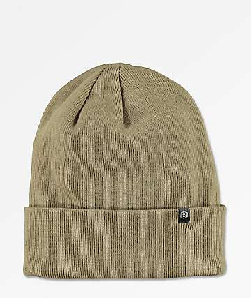 Zine Essential Sand Gas Station Fold Beanie