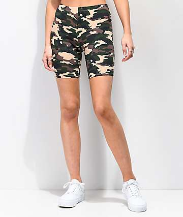 Zine Eve Camo Bike Shorts