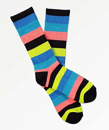 Zine Handjive Electric calcetines azules