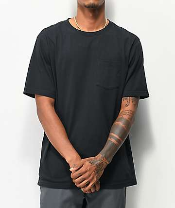 Zine JMFT Black Pocket T-Shirt