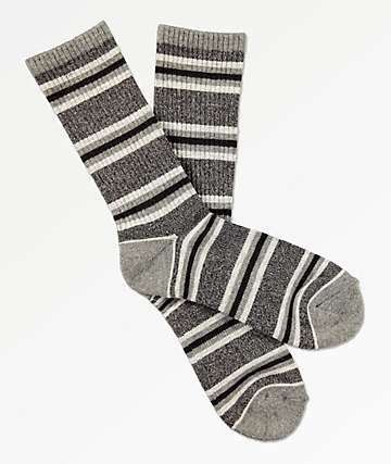 Zine Motion Heather Grey Crew Socks