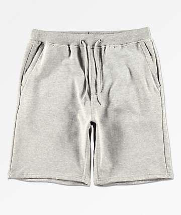 Zine Silas shorts deportivos de punto gris