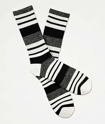Zine Street calcetines negros, grises y blancos