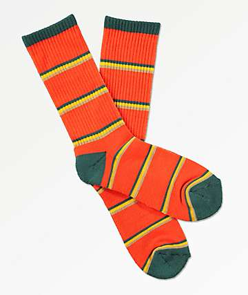 Zine Tried Firecracker Crew Socks