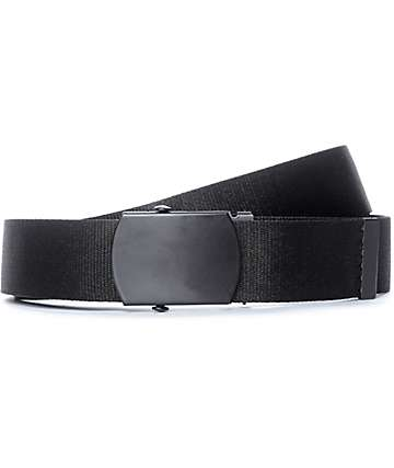 Zine Webster Black Web Belt