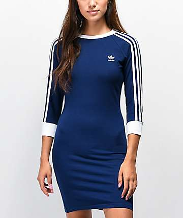 adidas 3 Stripes Dark Blue Dress