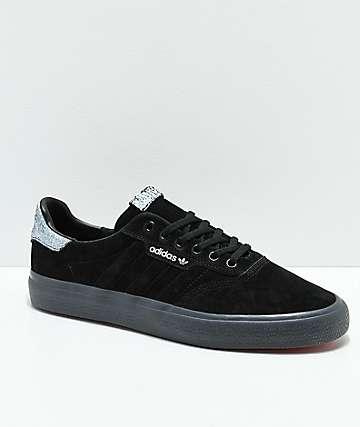 adidas 3MC Black, White & Grey Shoes