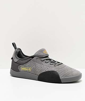 adidas 3ST.003 Grey, Carbon & Gold Shoes