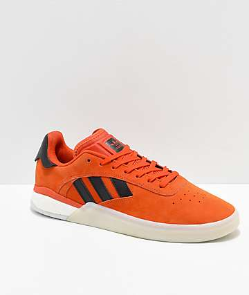 adidas 3ST.004 Orange & White Shoes