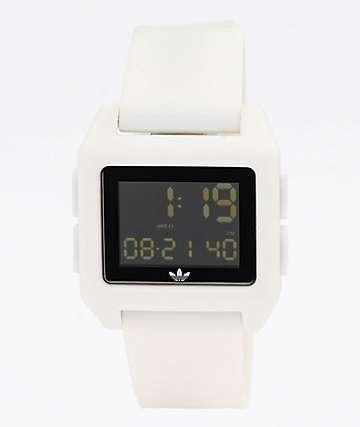 adidas Archive SP1 White Digital Watch