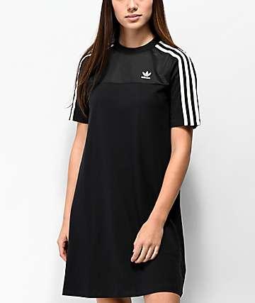 adidas Black Mesh T-Shirt Dress