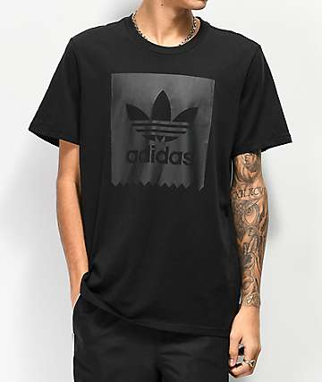 adidas Blackbird All Black T-Shirt