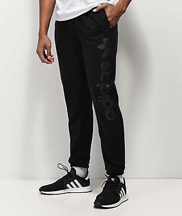 adidas Blackbird Black Jogger Sweatpants