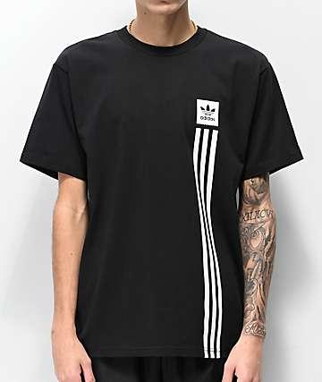 adidas Blackbird Pillar Black T-Shirt