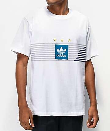 adidas Campeonato White T-Shirt