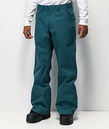 adidas Chino Viridian Green 8K Snowboard Pants