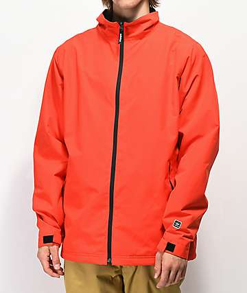 adidas Civillian Red & Black 5K Snowboard Jacket