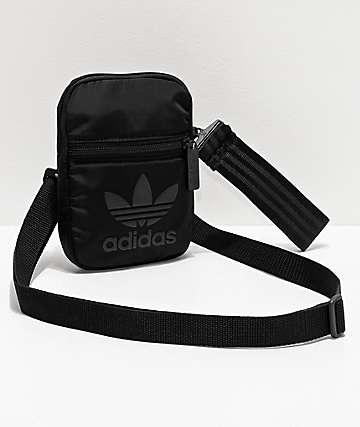 adidas Festival bolso de hombro negro