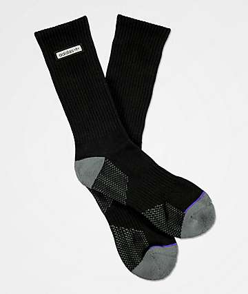 adidas Forum Patch Black Crew Socks