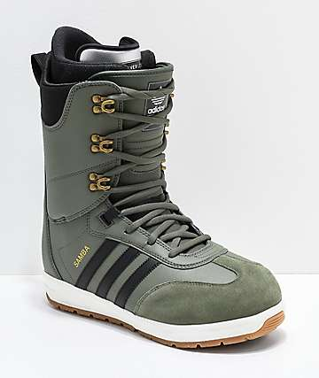 adidas Green Samba ADV Snowboard Boots 2019