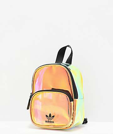 adidas Iridescent Gold Mini Backpack