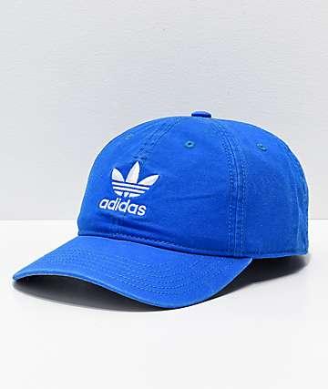 adidas Mens Trefoil Bluebird Strapback Hat
