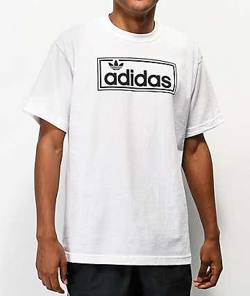 adidas New Icon Logo White T-Shirt