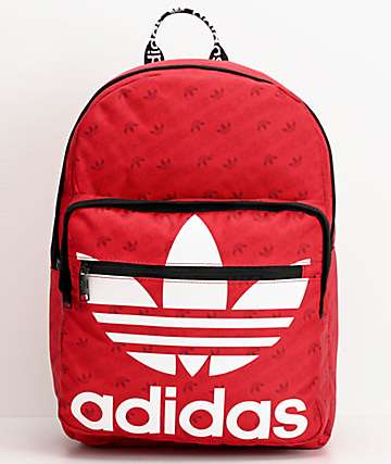 adidas Original Trefoil Pocket Scarlet Backpack