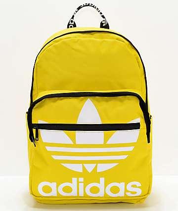 adidas Original Trefoil Pocket Yellow Backpack